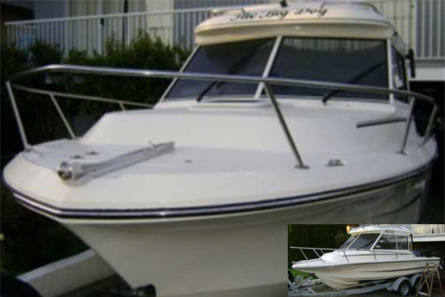 Delta police request public assistance to find stolen boat