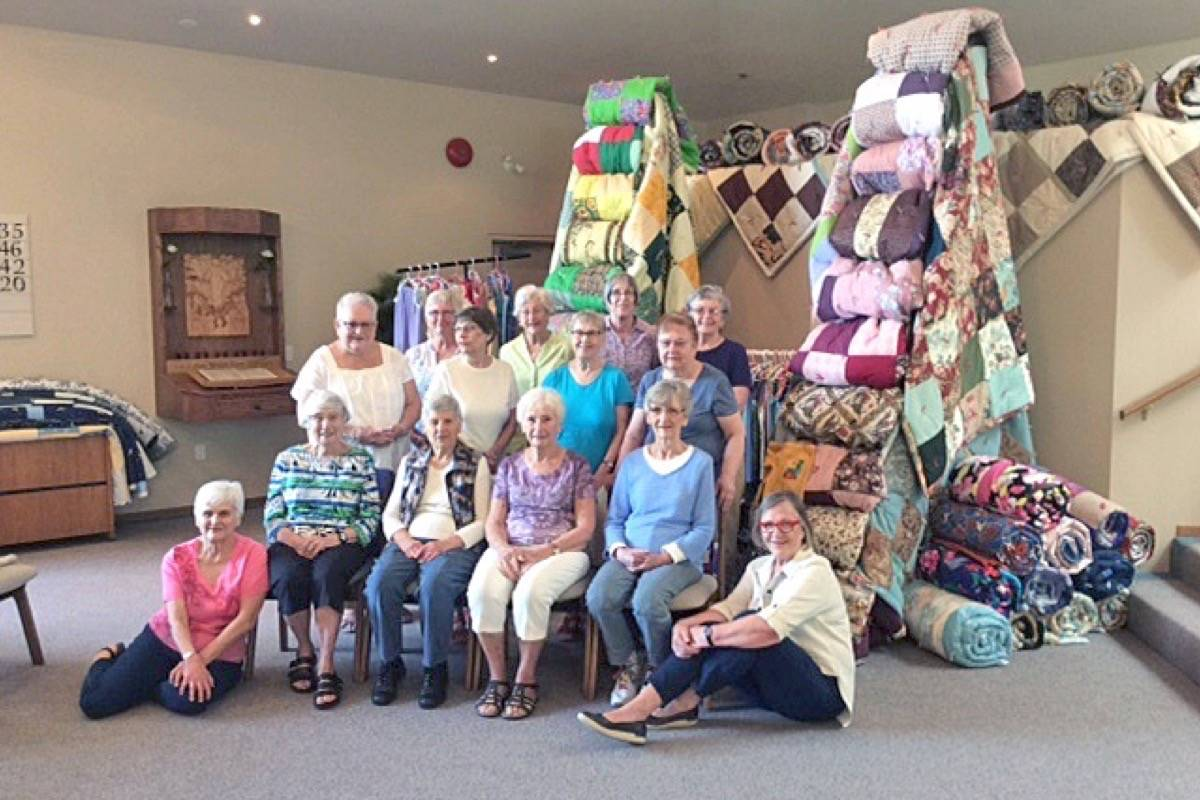 South Surrey volunteers craft hundreds of items for Africa