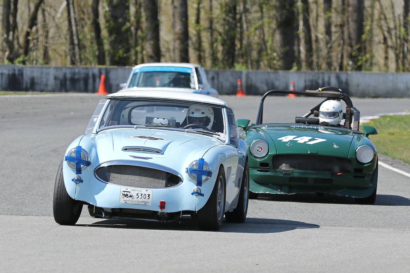 White Rock driver Lessner set for Mission vintage-car event - North ...