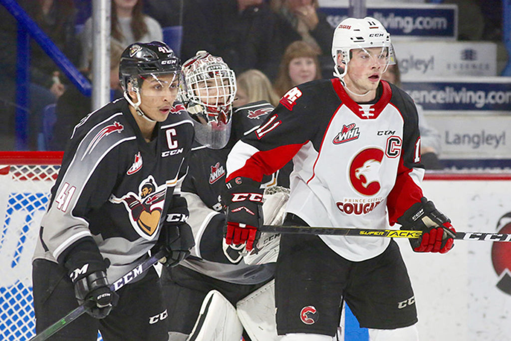 VIDEO: Vancouver Giants blank Cougars 4-0 - North Delta Reporter