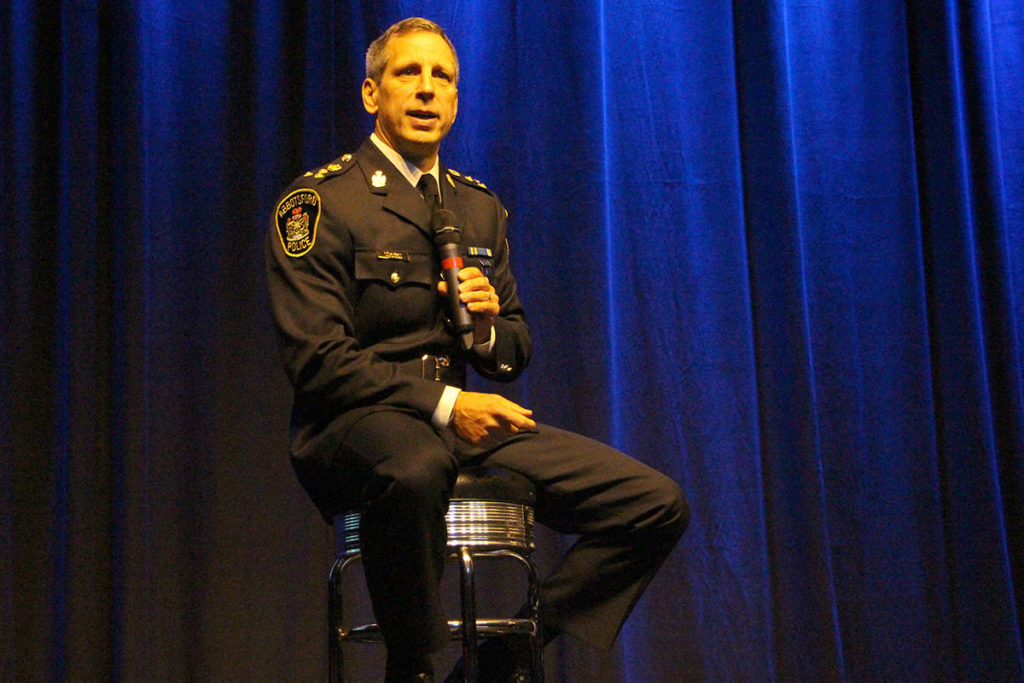 Abbotsford police chief mulls more enforcement of homeless lawbreakers - North Delta Reporter