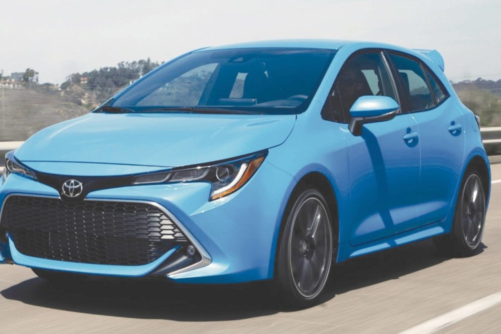 The hot-hatch Corolla is a go