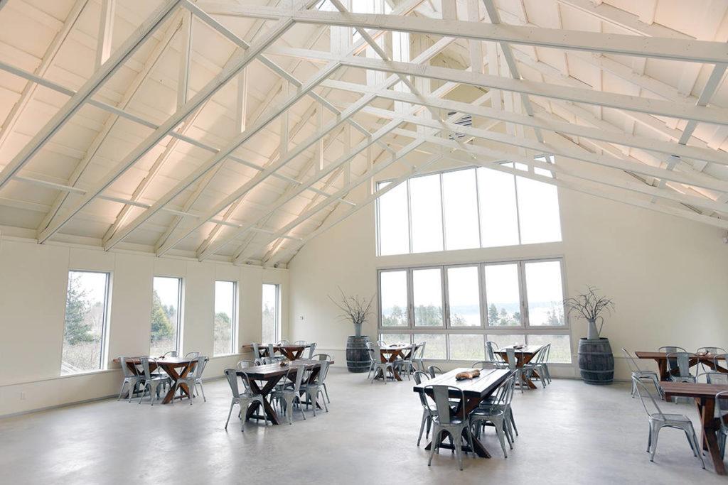 Light Filled Sea Cider Pavilion - North Delta Reporter