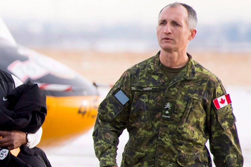 Incoming army commander with ties to Vernon faces sexual allegations - North Delta Reporter